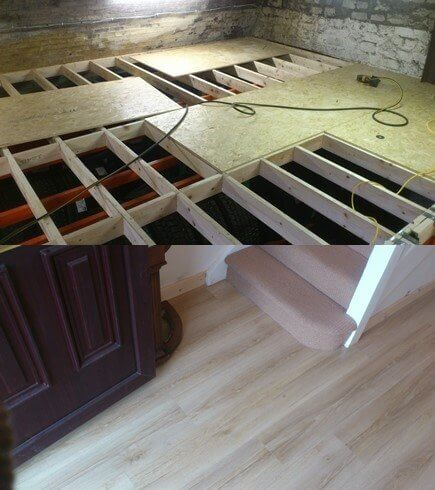 How To Repair A Rotten Floor Mac Carpentry