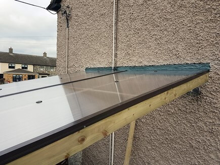 Roof flashing is an essential part of the roof construction. Usually a roof flashing is made up with lead. With new products like this one coming to market, a flashing can be fitted much quicker saving time and customers money.