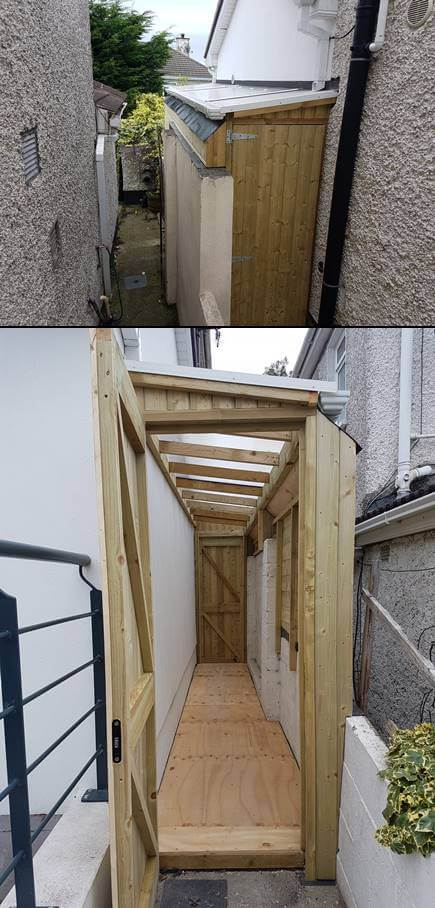Lean To Sheds Roofing Carpenter Mac