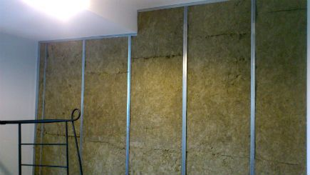 The Photo Ilrates Make Up Of A Sound Proof Wall It Starts With